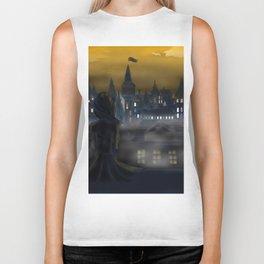 Girl Watching City Biker Tank