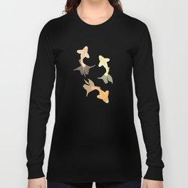Goldfish pattern Long Sleeve T-shirt