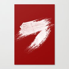 ANGER - red palette Canvas Print