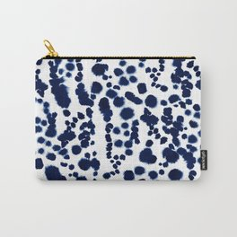 Navy Dalmatian Carry-All Pouch