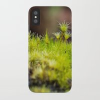 moss iPhone & iPod Cases featuring Moss. by Michelle McConnell
