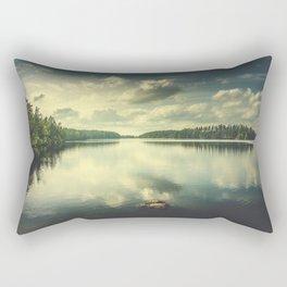 When in doubt Rectangular Pillow