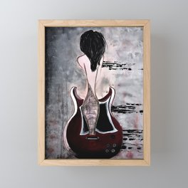 Relentless Rhythm. Illustrated for the book by author Michelle Mankin Framed Mini Art Print
