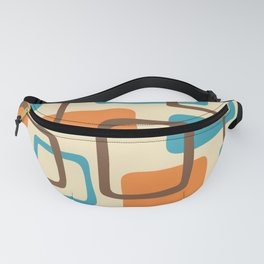 Mid Century Modern Abstract Squares Pattern 421 Fanny Pack