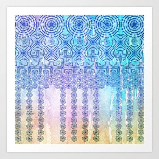 Ring Falls Art Print