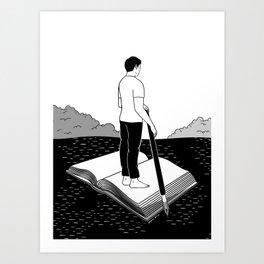 I'm not lost, I'm exploring Art Print