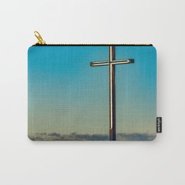 The Cross on the Hill Carry-All Pouch