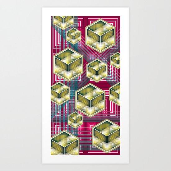 UNIT 50 Art Print