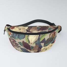 FLORAL AND BIRDS XXI-II Fanny Pack
