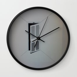 Are You Coming In or Going Out Wall Clock