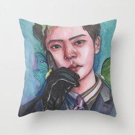 Jaehyun Says Throw Pillow