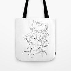 Dancer's Crown Tote Bag