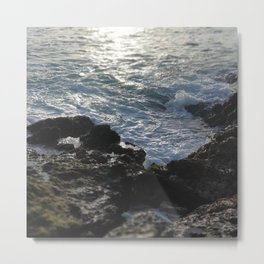 Costa rica Ocean Pacific beach Metal Print