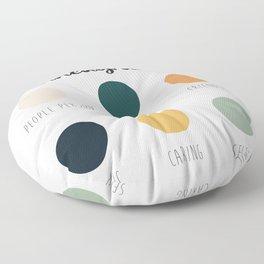 Enneagram 2 Floor Pillow
