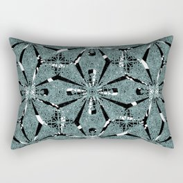 Modern Oriental Ornate Pattern Rectangular Pillow
