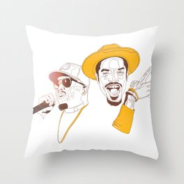 Andre 3000 and Big Boi Throw Pillow