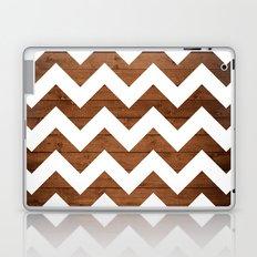 Chevron Wood Laptop & iPad Skin