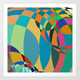 circle parts Art Print
