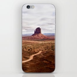 Monument Valley is a Navajo Nation Tribal Park iPhone Skin