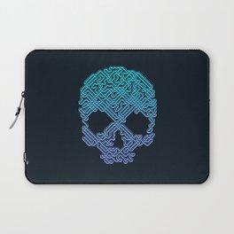 Labyrinthine Skull - Neon Laptop Sleeve