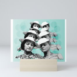Silently Judging You Mini Art Print