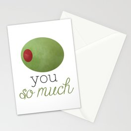 Olive You So Much Stationery Cards