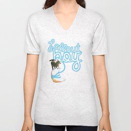 Hang Me From The Moon (FOB) Unisex V-Neck