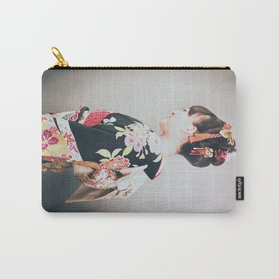 Woman japanese style Carry-All Pouch