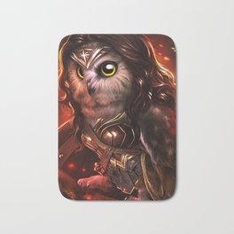 wonder owl Bath Mat