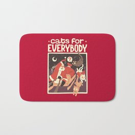 Cats for Everybody Bath Mat