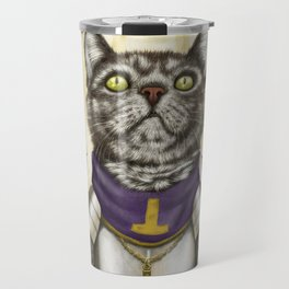 Cleric Cat Travel Mug