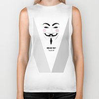 anonymous Biker Tanks featuring Anonymous by Nena Loca