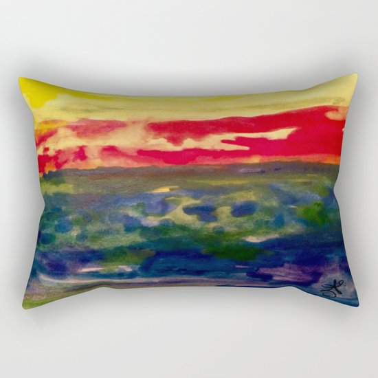My Starry Sunset Rectangular Pillow