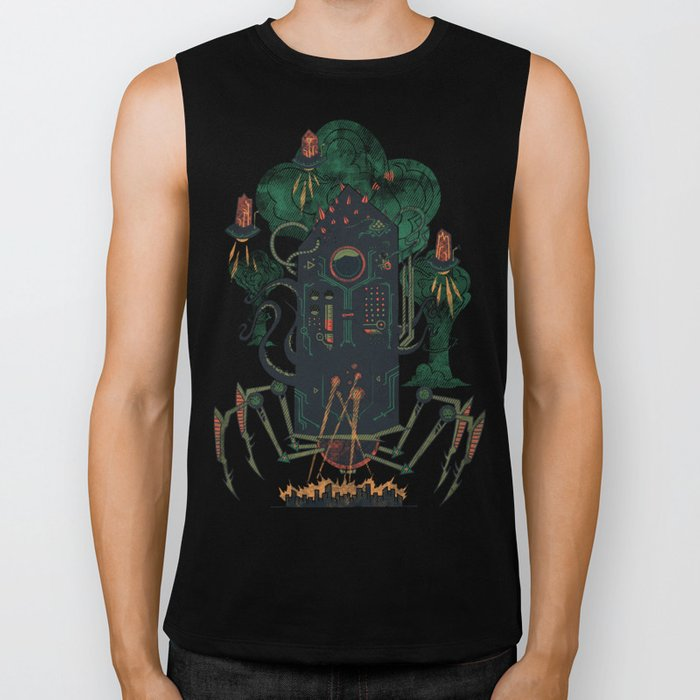 Not with a whimper but with a bang Biker Tank