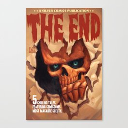 The End in 5 Chilling Tales Canvas Print