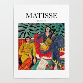 Matisse - La Musique Poster