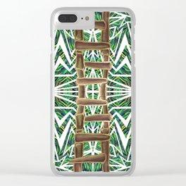 Jungle #2 Clear iPhone Case