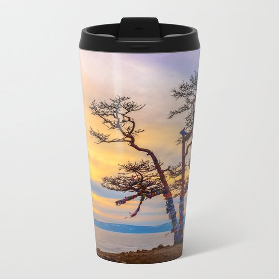 Baikal pine Metal Travel Mug