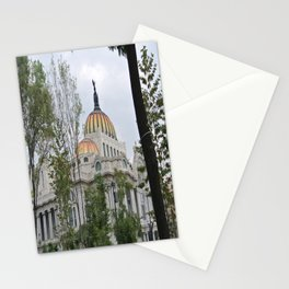 palacio de bellas artes Stationery Cards