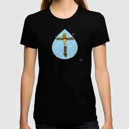 Jesus smiling T-shirt