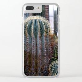 Barrel Cactus Colors Clear iPhone Case