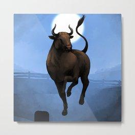 Chinese Zodiac: The Ox Metal Print