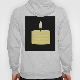 Happy Holidays Candle Hoody