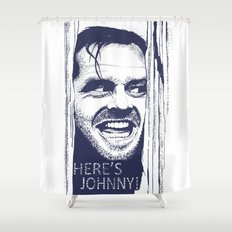 Here's Johnny! Shower Curtain
