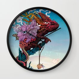 Phantasmagoria II Wall Clock