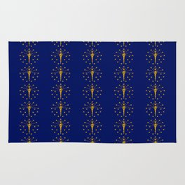 flag of indiana 2-midwest,america,usa,carmel, Hoosier,Indianapolis,Fort Wayne,Evansville,South Bend Rug