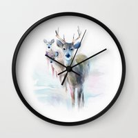 holiday Wall Clocks featuring holiday by tatiana-teni