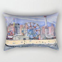 Coney Island Rectangular Pillow