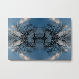 Sky Portal Metal Print