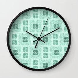 Pristine Pastures Wall Clock